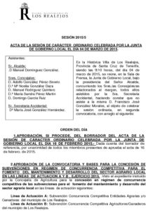 05. Acta Junta de Gobierno Local 04.03.2015