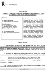 06. Acta Junta de Gobierno Local 18.03.2015