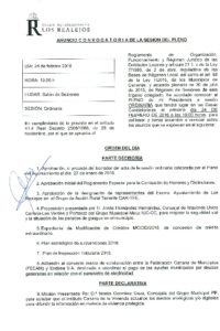 02. Convocatoria Pleno Ordinario 24.02.2016