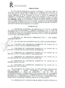 08. Convocatoria Junta de Gobierno Local 04.04.2016