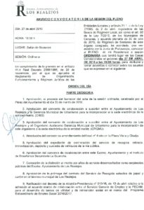 05. Convocatoria Pleno Ordinario 27.04.2016