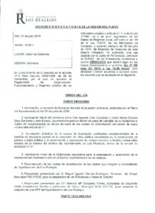08. Convocatoria Pleno Ordinario 27.07.2016