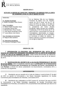 05. Acta Junta de Gobierno Local 07.03.2016
