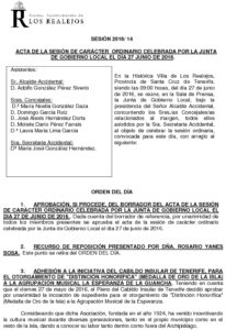 14. Acta Junta de Gobierno Local 27.06.2016