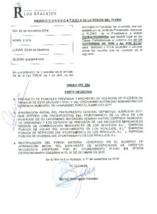 13 -ANUNCIO-CONVOCATORIA-PLENO-EXT -22.11.2016