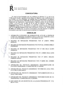 02. Convocatoria Junta de Gobierno Local 20.01.2014
