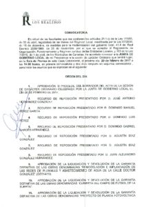 04  Convocatoria Junta Gobierno Local 20.02.2017