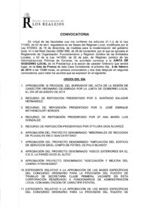 03. Convocatoria Junta de Gobierno Local 04.02.2014