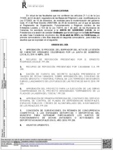 09. Convocatoria Junta Gobierno Local 30.04.2018