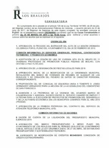 04. Convocatoria Pleno Ordinario 26.03.2015