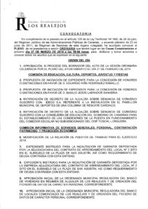 03. Convocatoria Pleno Ordinario 27.03.2014