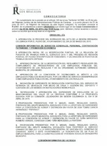 06. Convocatoria Pleno Ordinario 30.04.2015