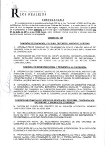 10. Convocatoria Pleno Ordinario 31.07.2014