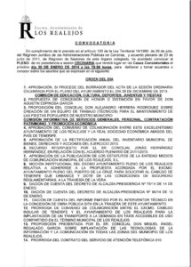 01. Convocatoria Pleno Ordinario 30.01.2014