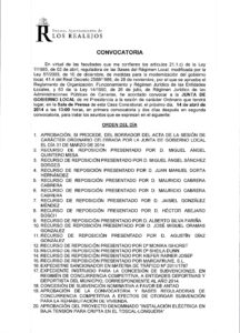 08. Convocatoria Junta de Gobierno Local 14.04.2014