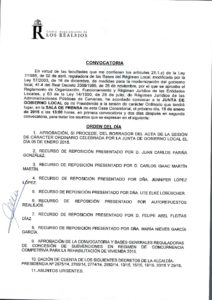 02. Convocatoria Junta de Gobierno Local 19.01.2015