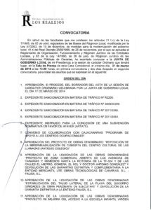07. Convocatoria Junta de Gobierno Local 31.03.2014