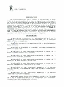07. Convocatoria Junta de Gobierno Local 30.03.2015
