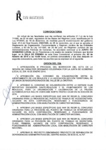 03. Convocatoria Junta de Gobierno Local 03.02.2015