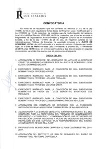 06. Convocatoria Junta de Gobierno Local 17.03.2014