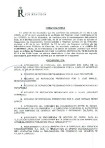 06. Convocatoria Junta de Gobierno Local 16.03.2015
