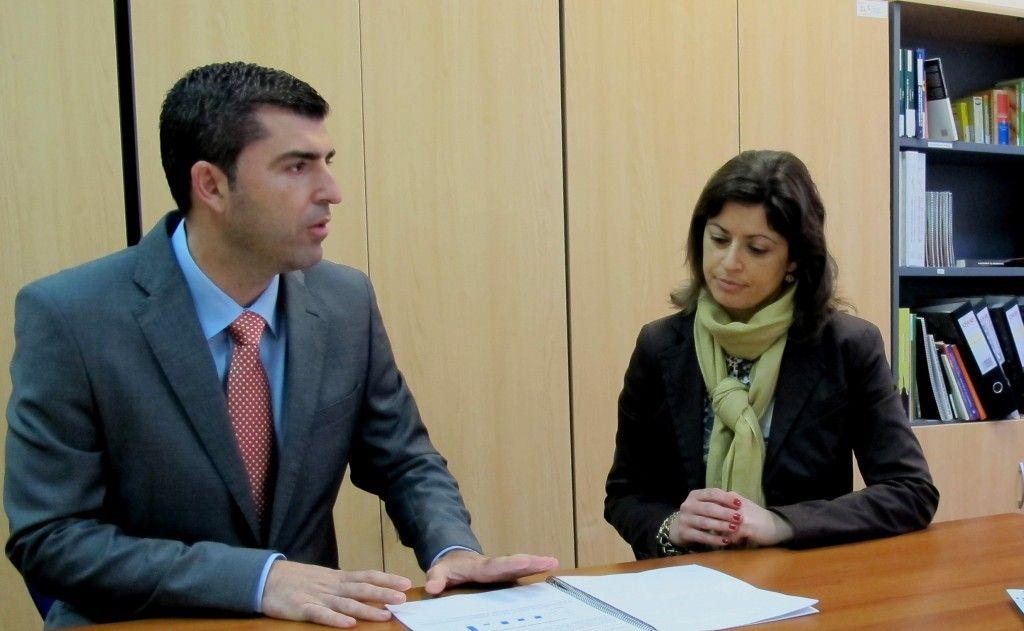 Alcalde y Noelia