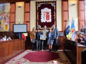 271114 Entrega sello Ciudad Amiga de la Infancia Colegio British School of Tenerife