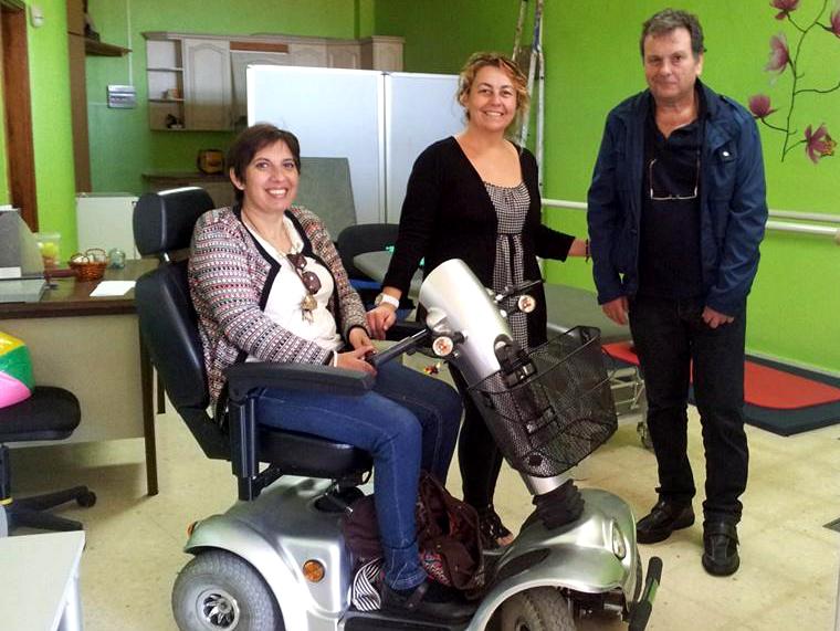 100614 Concejala Discapacidad Sandra visita Asociacion Milenio