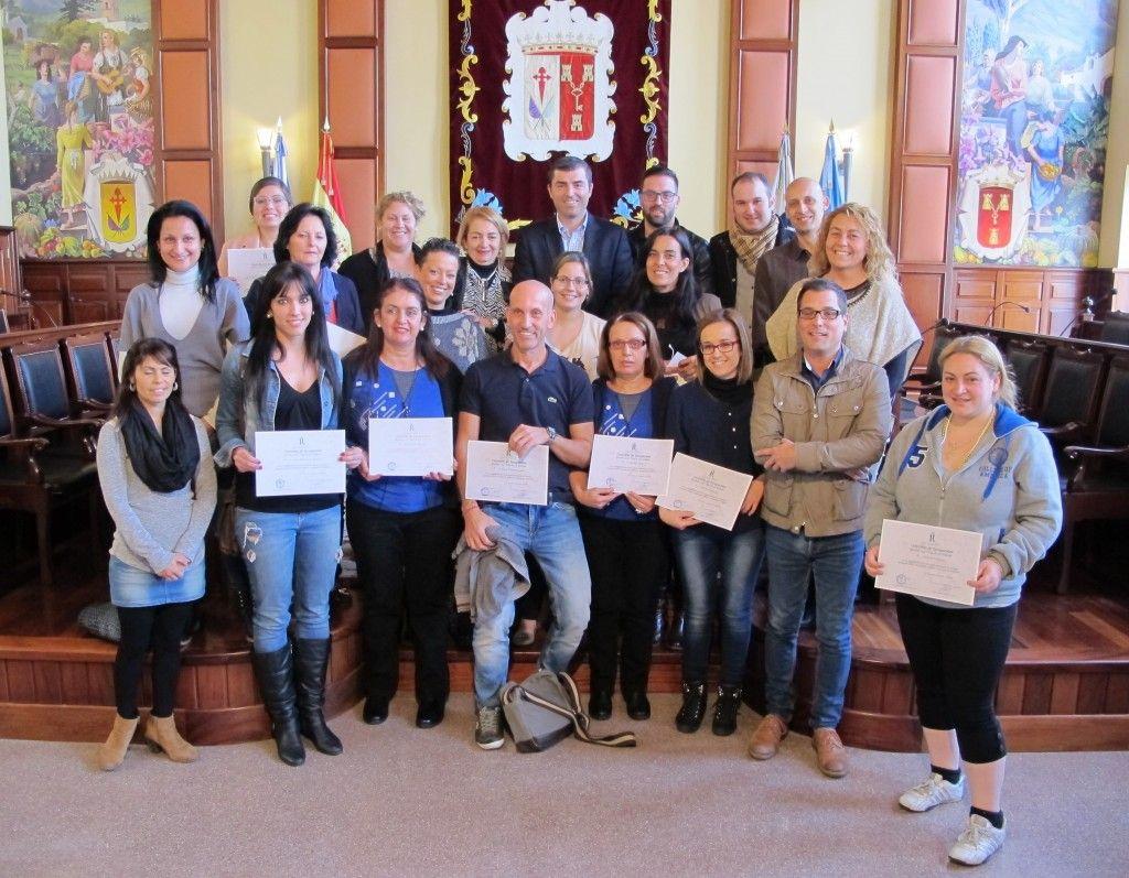 261214 Entrega de premios concurso escaparates Navidad 2014