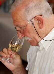 Detalle catador concurso de vinos