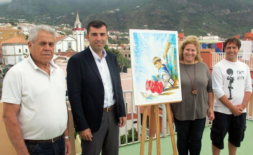 230615 Presentacion cartel Fiestas del Carmen 2015