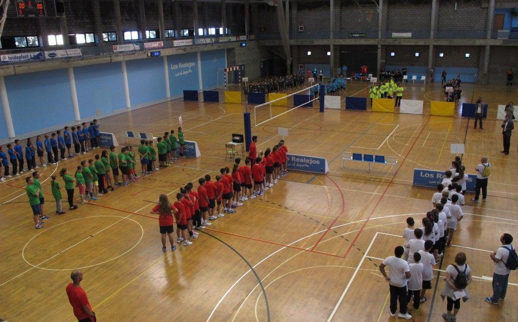 061115 Ceremonia inaugural III Miniolimpiadas Escolares 1