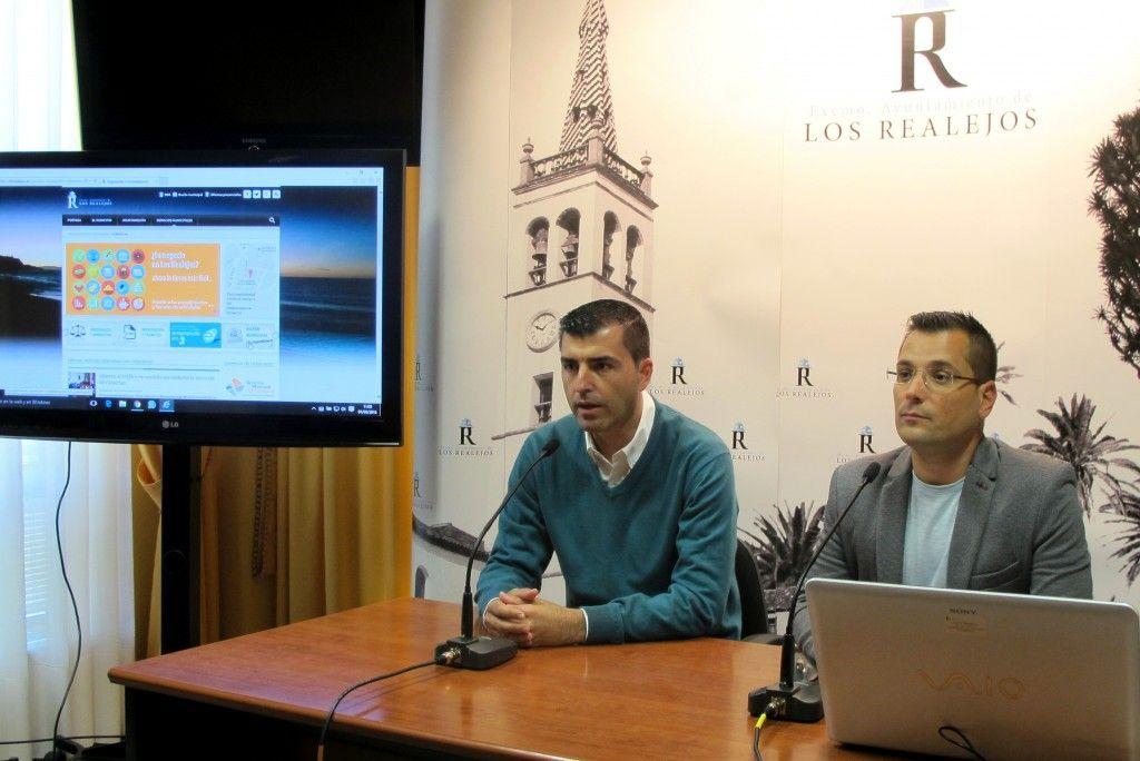 010616 Rueda de prensa presentacion portal web y sede electronica Urbanismo
