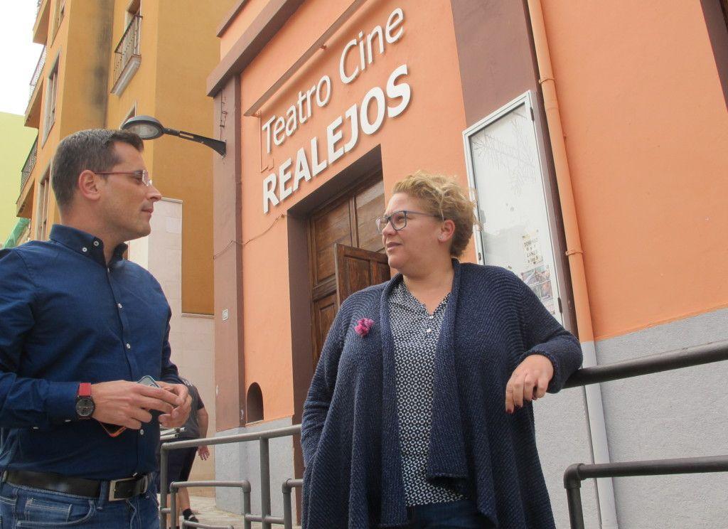 291116 Rehabilitacion del Teatro Cine Realejos en Plan de Infraestructuras Culturales Cabildo