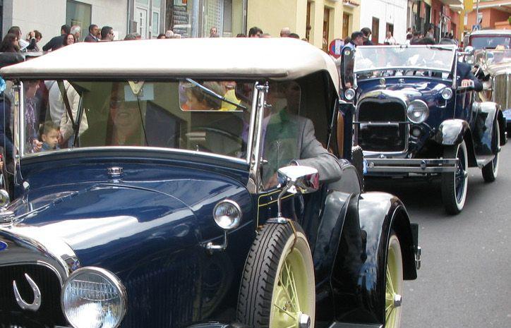 Recurso coche antiguo