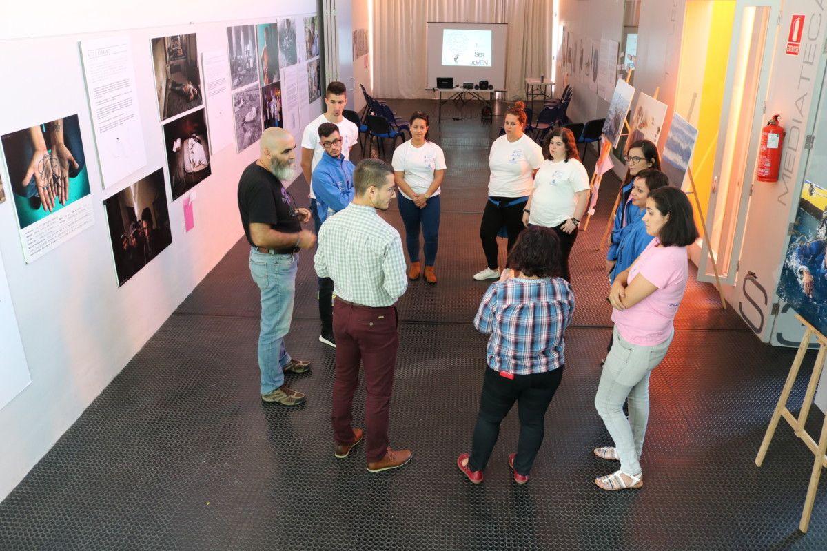 161117 Visita alumnos PFAE Fuerteventura Casa Juventud