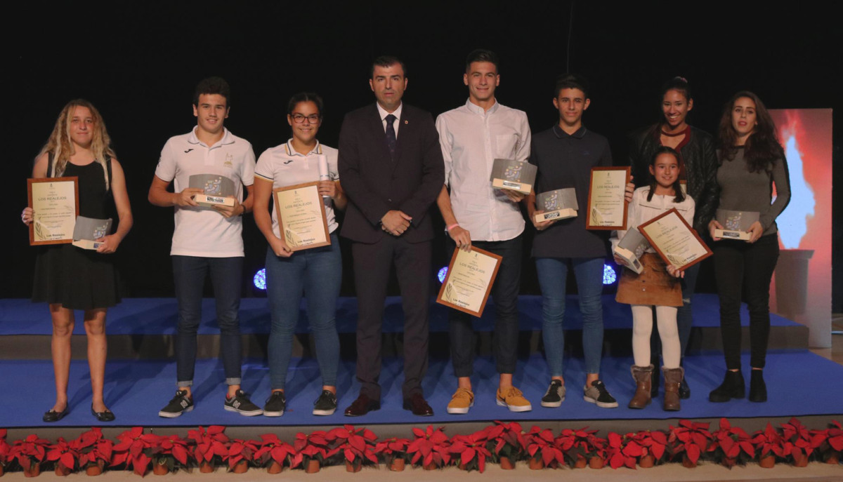 031217 Premiados Gala del Deporte 2017