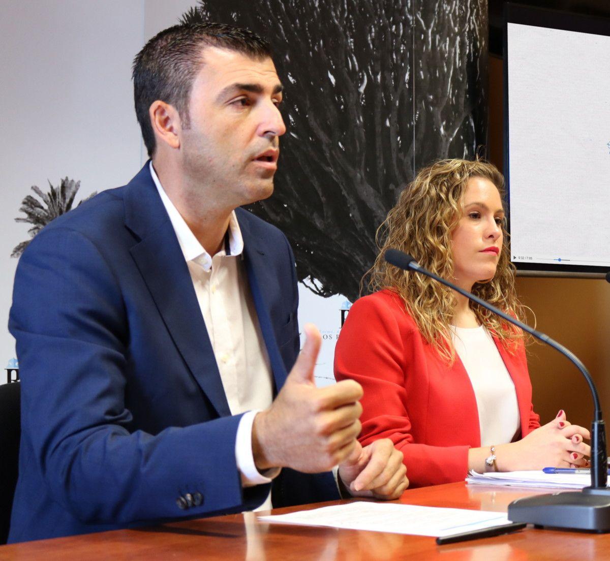 Archivo alcalde y concejala Hacienda Laura