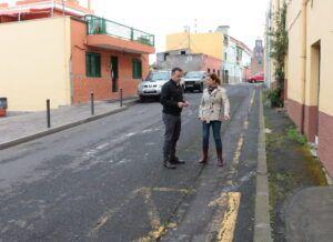 090418 Plan de Barrios visita previa obra calle Camino Real Icod el Alto