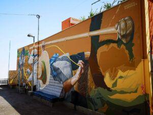 140818 Mural Icod el Alto Sabotaje al Montaje 03